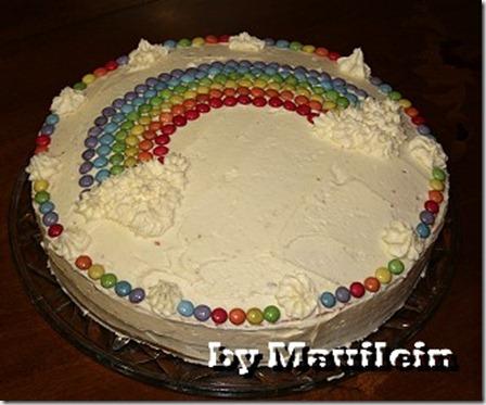 Rezept Regenbogenkuchen, Regenbogentorte