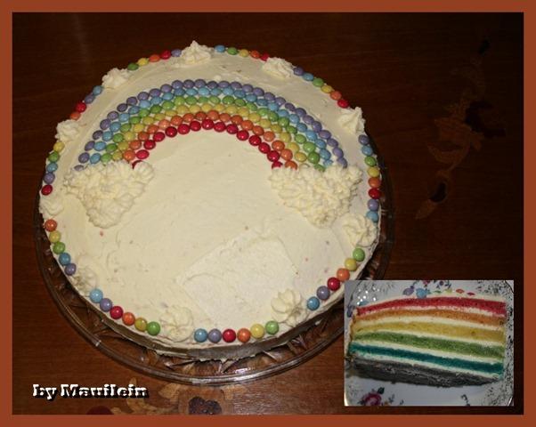 regenbogenkuchen rainbow cake mauileins blog. Black Bedroom Furniture Sets. Home Design Ideas
