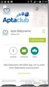 Apta Babyname