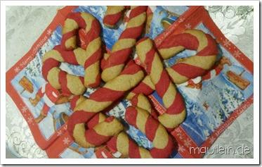 Candy Canes Kekse-Zuckerstangen Kekse