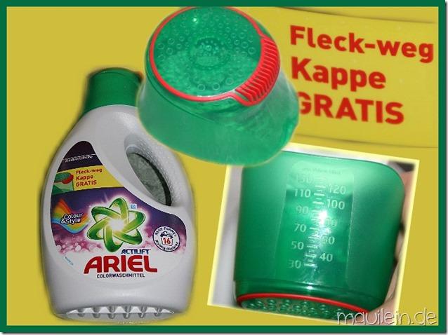 Ariel Flüssig mit Fleck-weg-Kappe