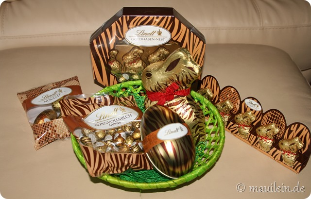 Lindt Ostern Animal Print