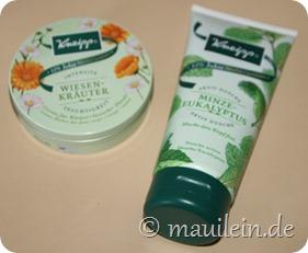 Kneipp Wiesenkräuter Feuchtigkeitscreme, Aktiv Dusche Minze-Eukalyptus