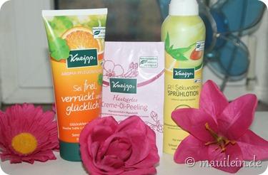 Aroma-Pflegedusche Sei frei, verrückt und glücklich, Sekunden Sprühlotion Kneipp