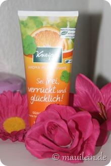Aroma-Pflegedusche Sei frei, verrückt und glücklich