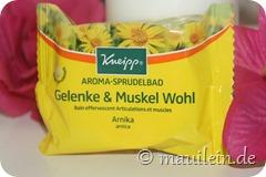 "Aroma Sprudelbad ""Gelenke & Muskel Wohl"""