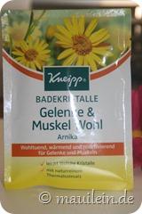 "Badekristalle ""Gelenke & Muskel Wohl"""