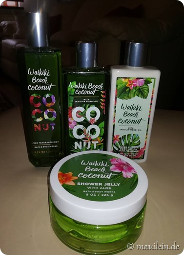 Waikiki Beach Coconut Bath & Body Works